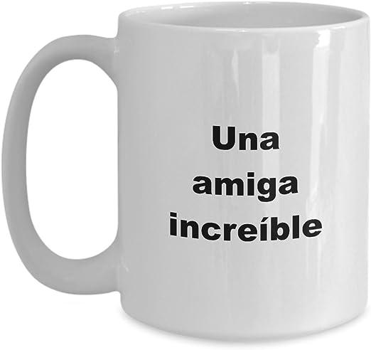 Amazon.com: Tazas para Amigas Regalo Especial de Cumpleanos ...