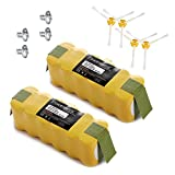 Powerextra 2 Pack Roomba Battery for Irobot Roomba 500 510 530 532 535 540 ...