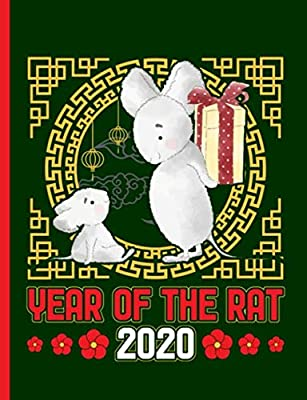Year of the Rat 2020 Composition Notebook: Happy Chinese New Year, Blank College Ruled Lined Note Book (Lunar Calendar Gifts Vol 4)