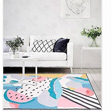 Kooco 200 X220 Cm Nordischer Stil Gross Dekoration Fur Wohnzimmer