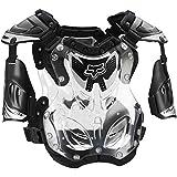 Fox Racing R3 Men's Roost Deflector Motocross Motorcycle Body Armor - Black/Large