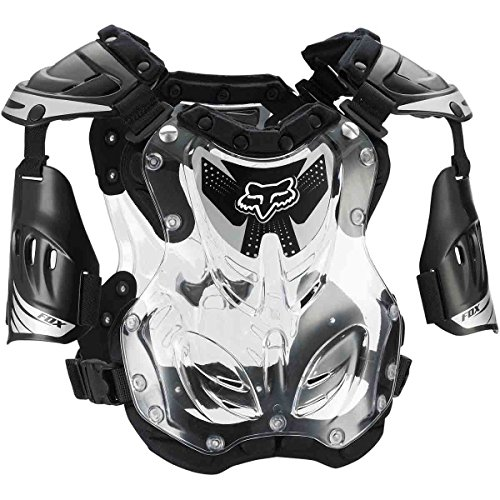 Fox Racing R3 Men's Roost Deflector Motocross Motorcycle Body Armor - Black/Large ()