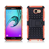 JAMMYLIZARD [ Samsung Galaxy A5 (6) 2016 Case ] ALLIGATOR Heavy Duty Double Protection Rugged Back Cover, Orange