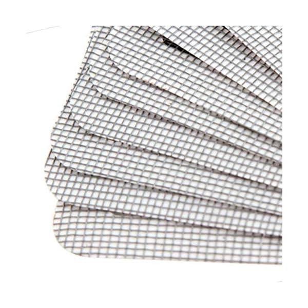Longspeed Patch Anti-zanzariera in Fili appiccicosi Patch Finestra Estiva Rete Anti-zanzare Patch Riparazione dei Fori… 6 spesavip