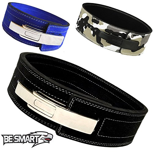 Weight Power Lifting Leather Lever Pro Belt Gym Training Powerlifting