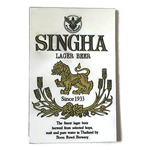Agility White Singha Beer Logo Art 1 Collectible Vintage Photo Fridge Magnet