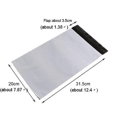 LAGEDOUDING Bolso de mensajero gris claro 10 piezas Bolsa de ...