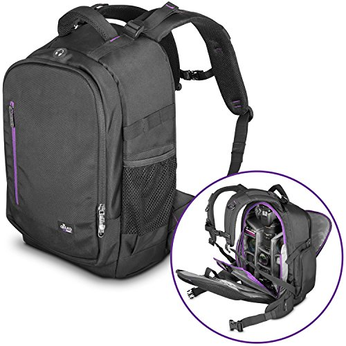 DSLR Camera Backpack Bag by Altura Photo for Camera, Lenses, Laptop/Tablet and Photography Accessories (The Great Explorer) from Altura Photo