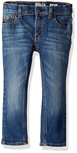 Double Button Skinny Jean - Osh Kosh Boys' Toddler Skinny Jeans, Indigo Bright, 2T