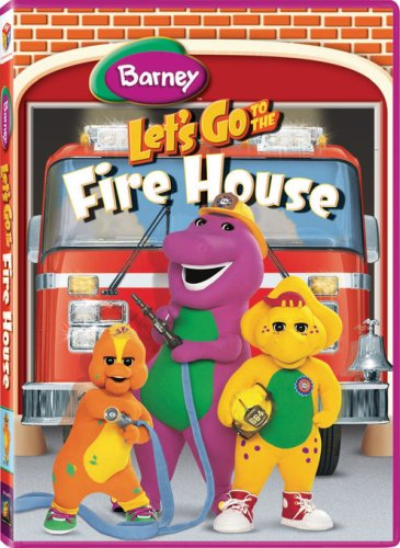 Barney Let's Go to the Firehouse [Latino]