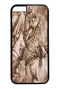 iphone 6 plus Case, iphone 6 plus Cases -Ghost Rider Polycarbonate Hard Case Back Cover for iphone 6 plus 5.5 inch Black by icecream design