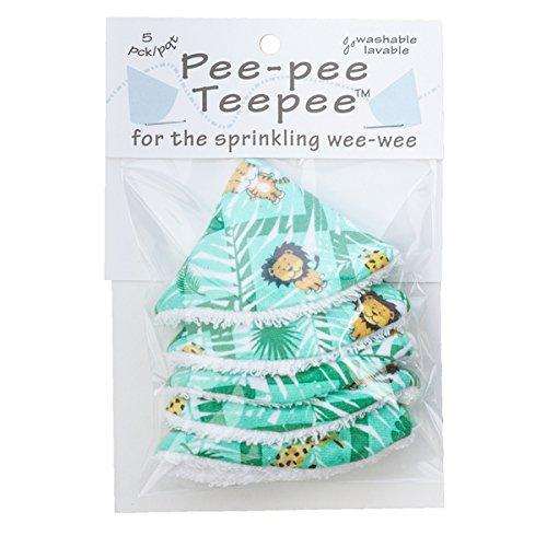 Pee-pee Teepee Jungle Green - Cello Bag