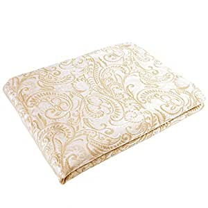 Stylemaster Provence Colcha de algodón matelasse, tamaño matrimonial, color marrón grisáceo