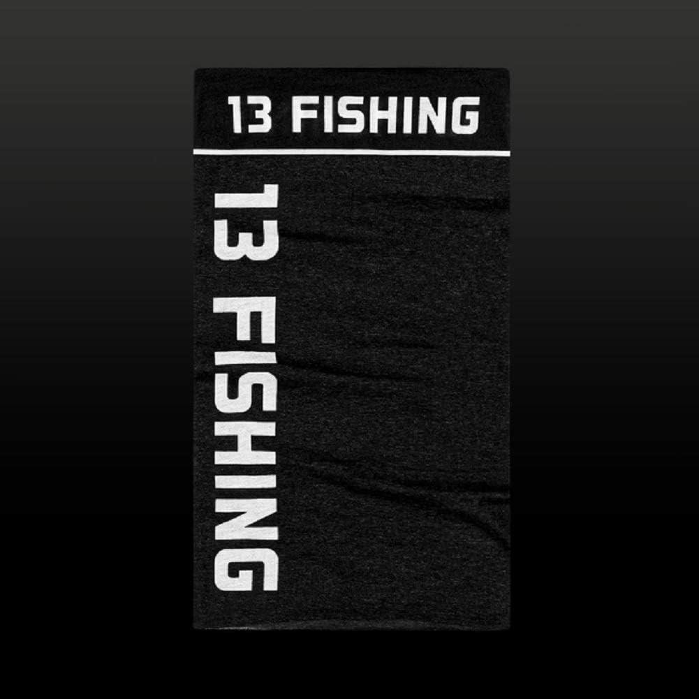 13 Fishing Neck Gaitor Black