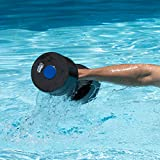 Sunlite Sports High-Density EVA-Foam Dumbbell Set - Soft Padded - Water Aerobics, Aqua Therapy, Pool Fitness, Water Exercise - Advanced Size