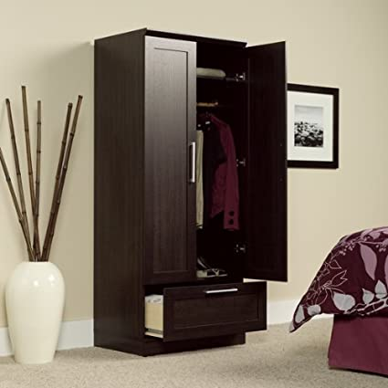 Amazon.com - Armoire Wardrobe Storage Cabinet - Bedroom Armoires