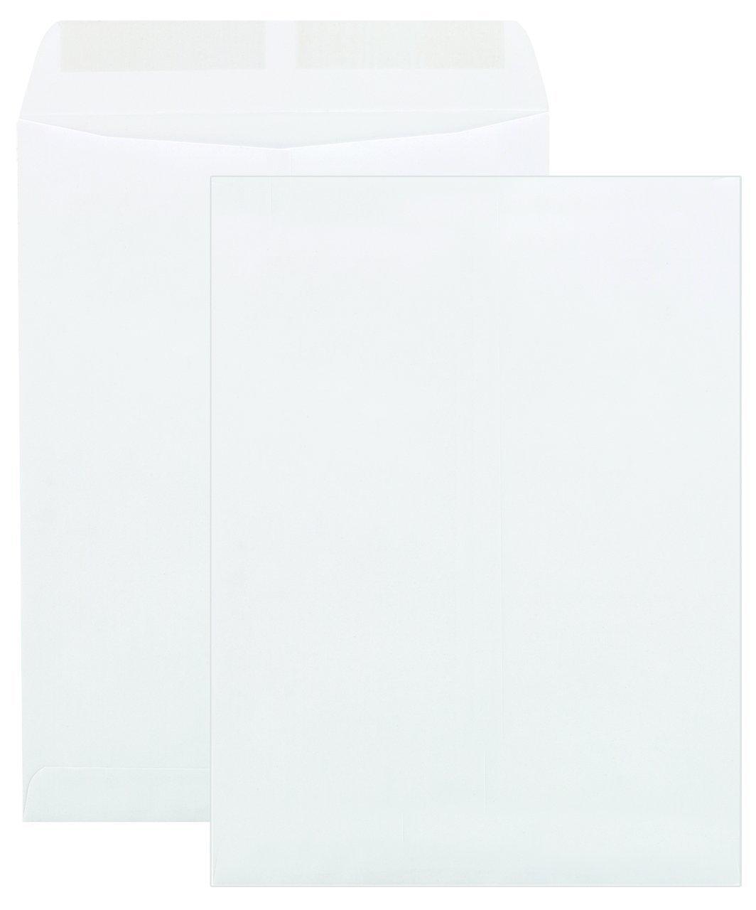 Columbian White Gummed 9 x 12 Inch Columbian Catalog Envelopes 100 Count (CO662)