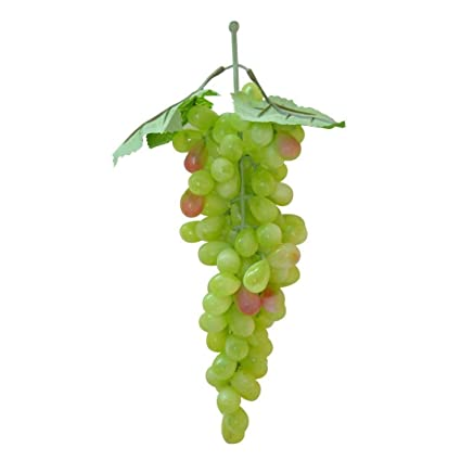 buy reiki crystal products plastic artificial grapes fruit green