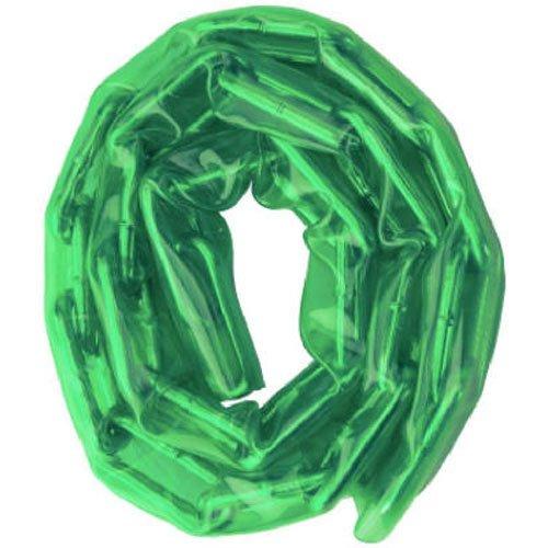 Master Lock 73D 3-Feet Hardened Steel Chain, Green Sleeve (Master Lock Steel Chain)