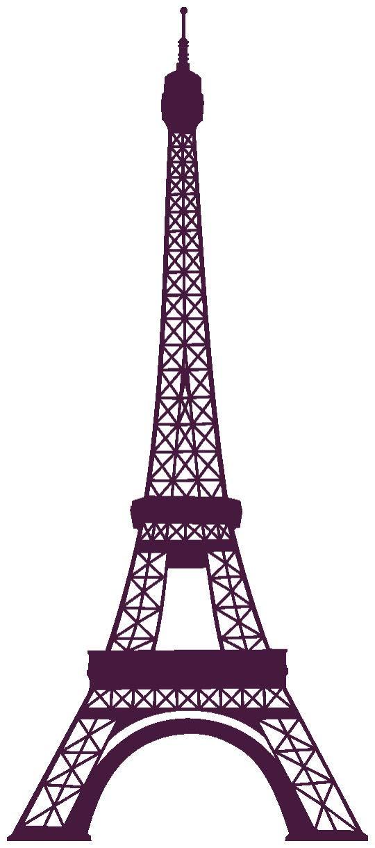 Samunshi® Wandtattoo Eiffelturm Paris Wandaufkleber in 13 Größen und 25 Farben (69x160cm Enzian) B0133E56XU Wandtattoos & Wandbilder