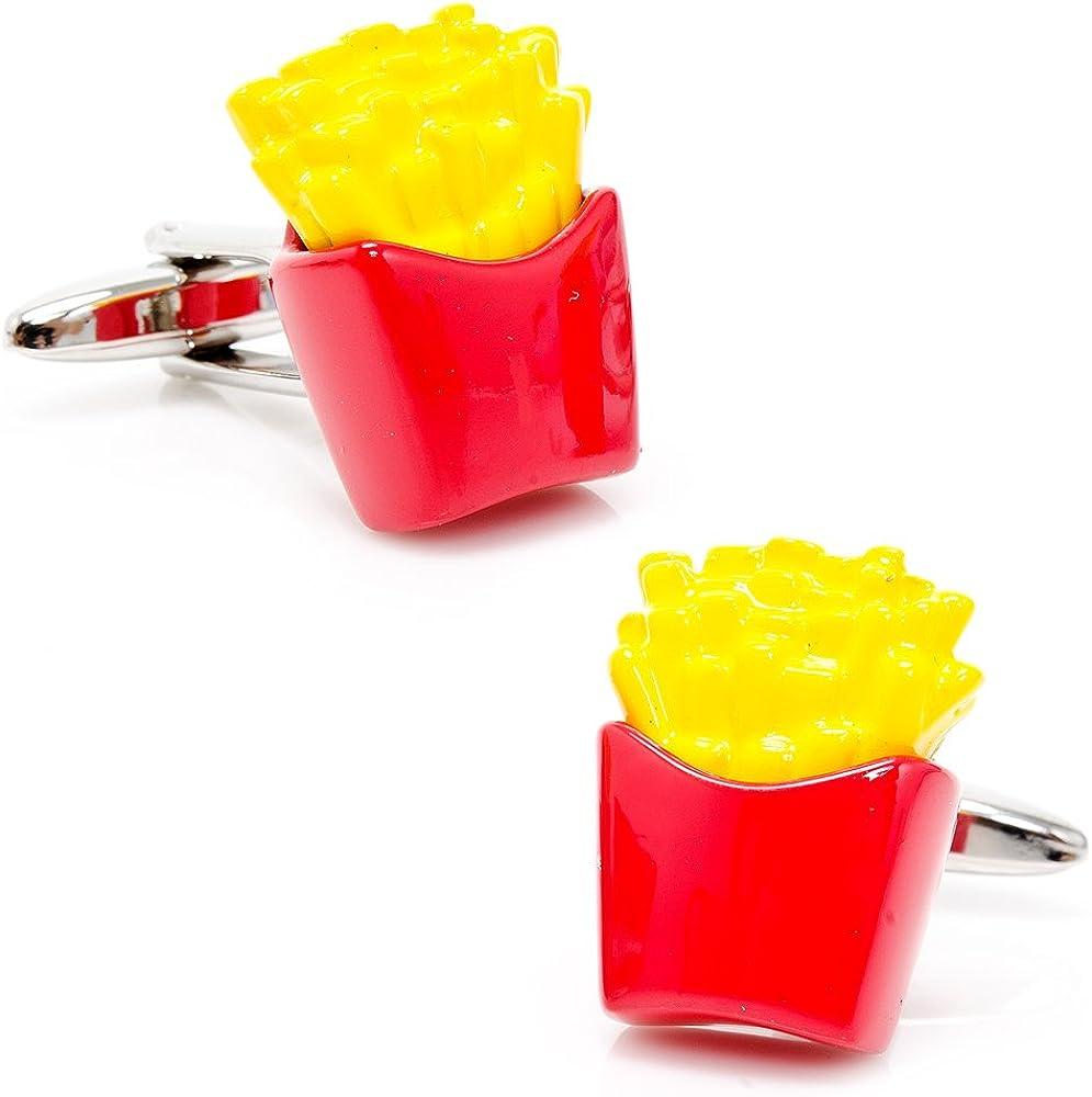 Cufflinks Inc Enamel French Fries Cufflinks PSN199