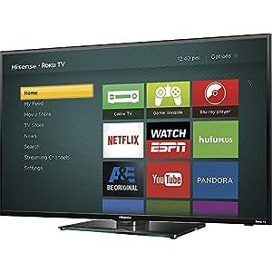 hisense 40h4c 40 inch 1080p roku smart led tv 2015 model certified refurbished. Black Bedroom Furniture Sets. Home Design Ideas