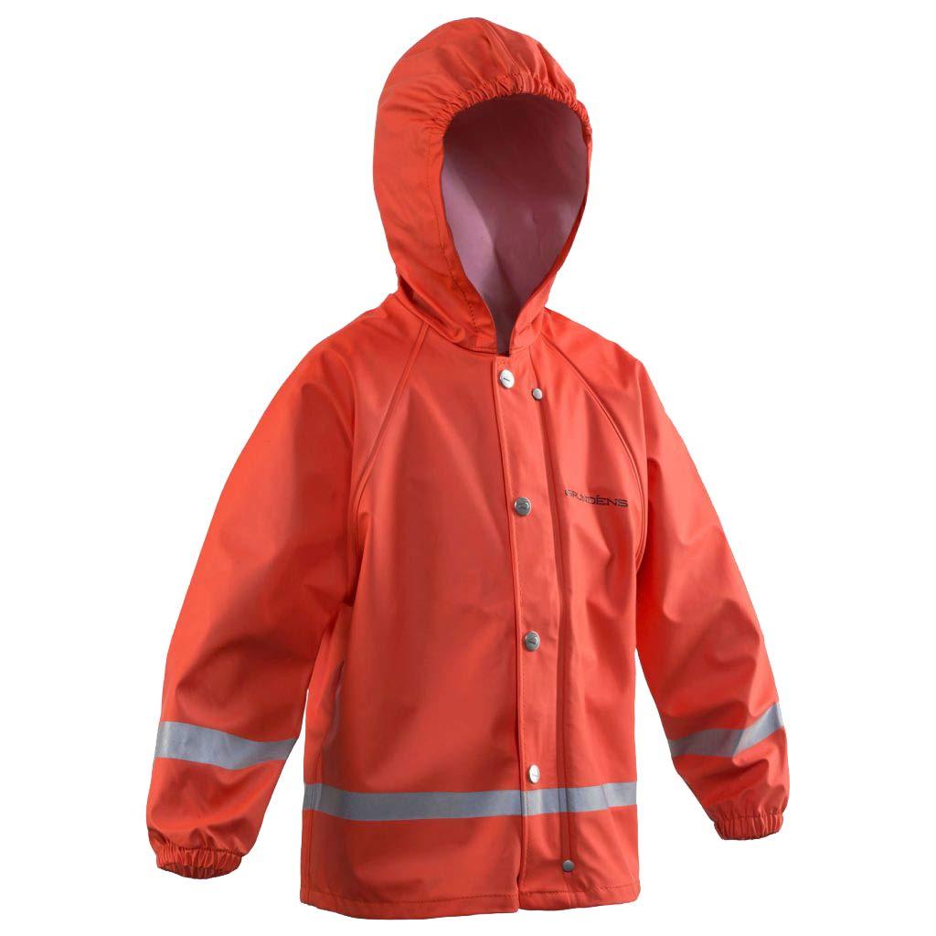 Grundéns 10015 Child's Zenith 293 Hooded Parka, Orange - 4yr