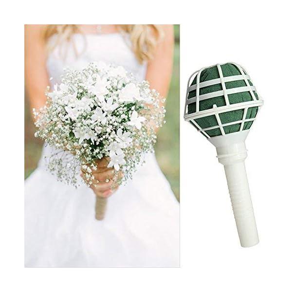 6-PCS-Bouquet-Holders-with-Foam-DIY-Handle-Bridal-Floral-Wedding-Flower-Holder-for-Fresh-Flowers-Silk-Flowers