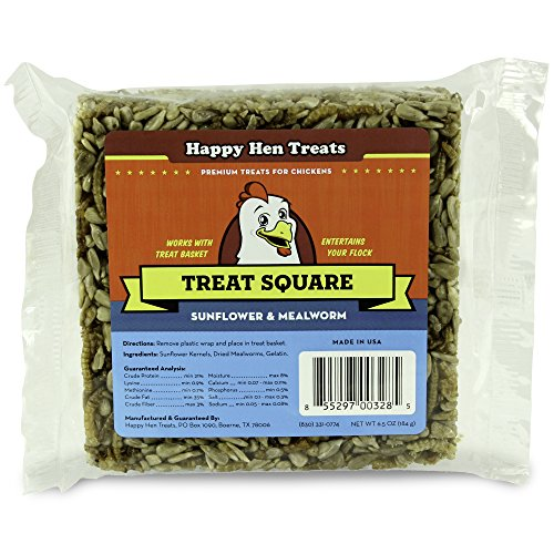 51bQjs69hIL - Happy Hen Treats Treat for Pets, Mealworm and Sunflower, 6.5-Ounce