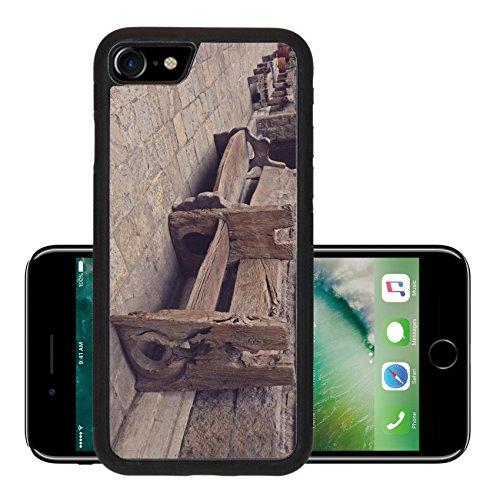 Liili Premium Apple iPhone 7 Aluminum Backplate Bumper Snap Case iPhone7 IMAGE ID 33116024 vintage hardwood heavy bench outdoor (Aluminium Outdoor Park Furniture)
