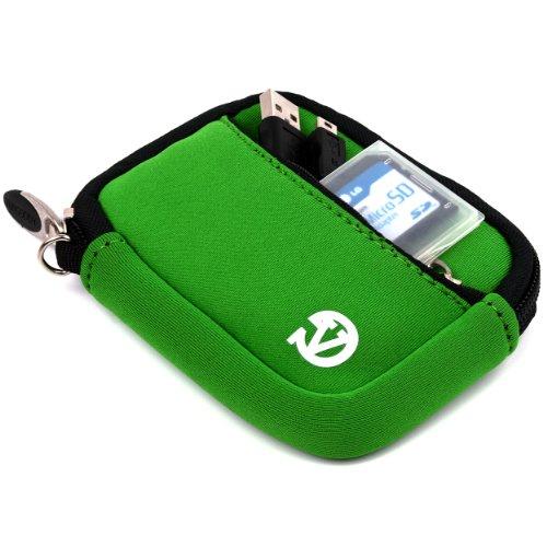 VanGoddy Mini Glove Neoprene Sleeve for Sony Cyber-shot DSC-RX100 IV Digital Cameras (Green)