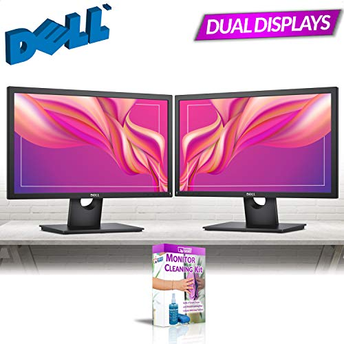 (Dell 22in Monitor (CECP) Dual Monitor Combo (Renewed))