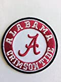 University of Alabama Crimson Tide Embroidered Patch Logo Iron On/sew on 2.5''