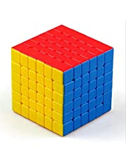 ShengShou Tank 6x6x6 Magic Cube Speed Competition Puzzle Magic Cube for Children Adults