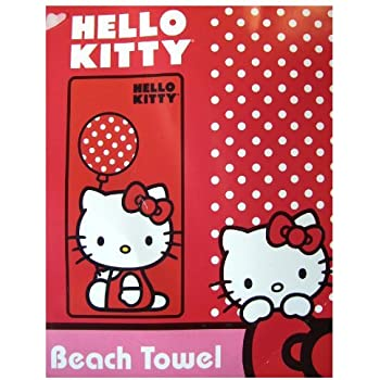 chic Sanrio Hello Kitty & Friends Beach Towel - Loot Crate Exclusive