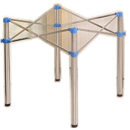 Diy Folding Table Legs.Height 72cm Metal Stainless Steel Adjustable Fold Table Legs