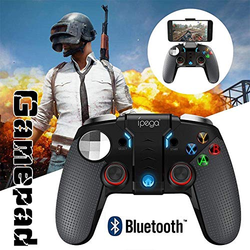 RONSHIN Gamepad Controller-Wireless Bluetooth Gamepad Gaming Controller Joystick Dual Motor Turbo Gamepads for Windows Android Phone Gifts for Men by RONSHIN