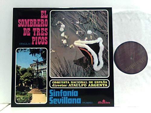 Turina* - Ataulfo Argenta*, Orquesta Nacional De España – El Sombrero De Tres Picos / Sinfonía Sevillana: De Falla, Manuel: Amazon.es: Música