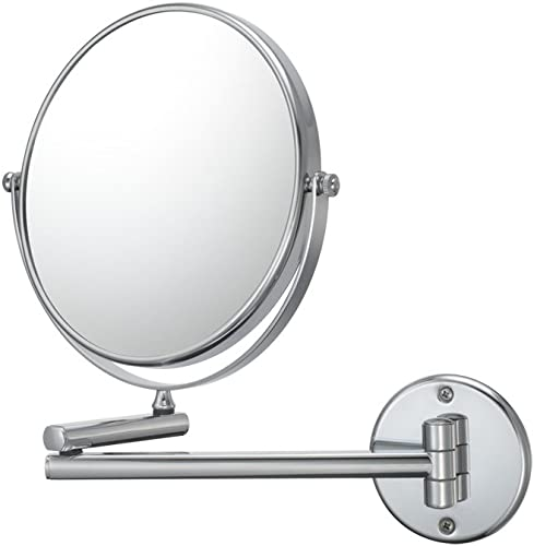 Kimball Young 21740 Double Arm Wall Mirror, 1X and 10X Magnification, Chrome