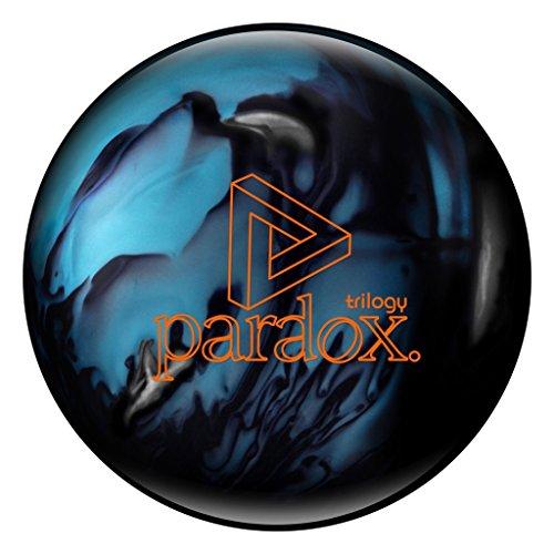 Track Paradox Trilogy Bowling Ball, Blue/Silver/Black, 15 lb (Amazon Trilogy)
