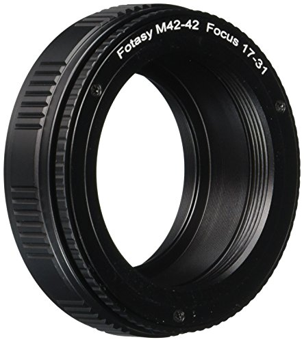 Fotasy 42mm to 42mm Lens Focusing Helicoid Adapter 17mm - 31mm (M)