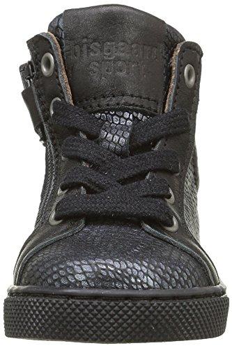 Bisgaard 21801216 - Zapatos de primeros pasos Bebé-Niños Noir (212 Snake black)