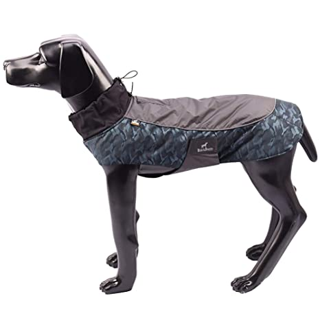 013b7622c6f4e Tellpet Dog Jackets Dog Coats Waterproof Windproof Jackets for Dogs,  Medium, Camouflage Blue