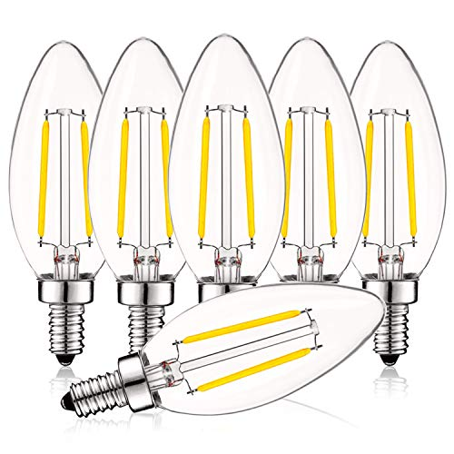 Candelabra Dimmable Chandelier Equivalent Filament product image