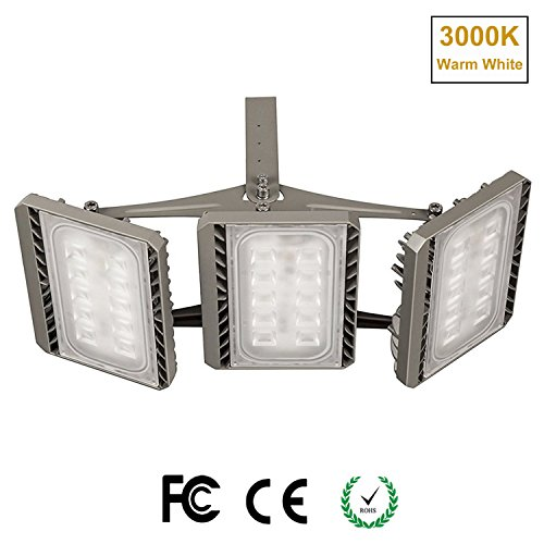Stasun led flood light outdoor 150w super bright led security stasun led flood light outdoor 150w super bright led security lights cree led source 13500lm 450w equivalent 3000k warm white adjustable heads aloadofball Images