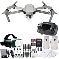 DJI Mavic Pro Platinum Collapsible Quadcopter Virtual Reality Experience VR Essential Bundle