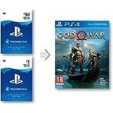 PSN Wallet top-up for God of War 4 | PS4 Download Code - UK Account