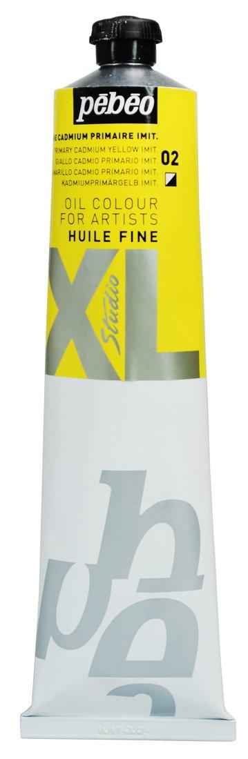 Pebeo - Tubetto di colore ad olio, confezione XL, 200 ml, colore: giallo cadmio 200ml 200002