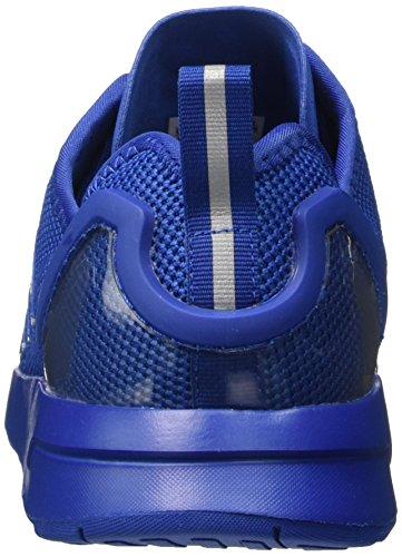 adidas Men's Zx Flux Adv Trainers, Black, 6.5 UK Blue (Electric Blue)