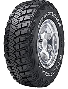 goodyear wrangler mt r with kevlar all terrain radial tire 285 75 18 129p automotive. Black Bedroom Furniture Sets. Home Design Ideas
